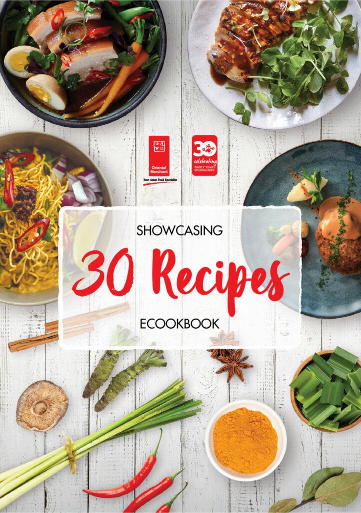 Showcasing 30 Recipes eCookbook